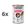 Ontario Kitten - piščanec, rakci, riž in lososovo olje - 400 g 6 x 400 g