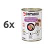 Ontario Cat - piščanec, puran in lososvo olje - 400 g 6 x 400 g