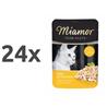 Miamor Feines Filets Jelly - piščanec in tuna - 100 g 24 x 100 g