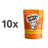 Meowing Heads Paw Lickin' Chicken - piščanec - 100 g 10 x 100 g