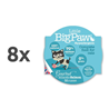 Little Big Paw alucup mousse - losos - 85 g 8 x 85 g