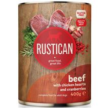 Rustican konzerva Adult - govedina in piščanec