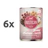 Rustican konzerva Junior - piščanec in jagnjetina 6 x 400 g