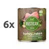 Rustican konzerva Adult - puran in kunec 6 x 800 g
