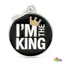 My Family identifikacijski obesek I'm The King - GRAVIRANJE GRATIS!