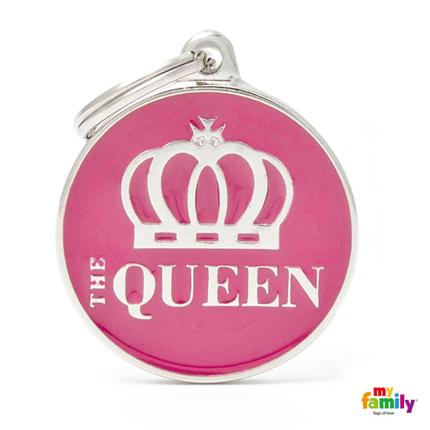 My Family identifikacijski obesek The Queen - GRAVIRANJE GRATIS!