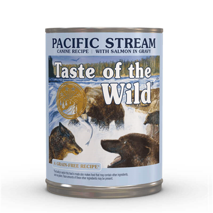 Taste of the Wild Pacific Stream - losos - 390 g