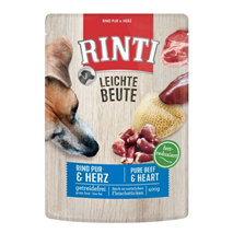 Rinti Leichte Beute - govedina in piščančja srca - 400 g