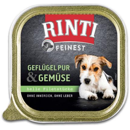 Rinti Feinest alutray - perutnina in zelenjava - 150 g