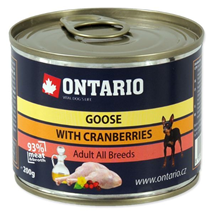 Ontario Adult Mini - gos z brusnicami - 200 g