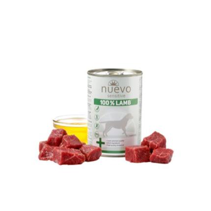 Nuevo Sensitive Adult - jagnjetina - 400 g