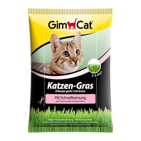 GimCat trava za mačke v vrečki - 100 g
