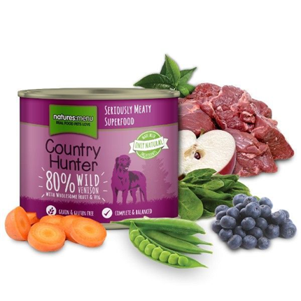 Natures Menu Country Hunter - divjačina in borovnica - 400 g