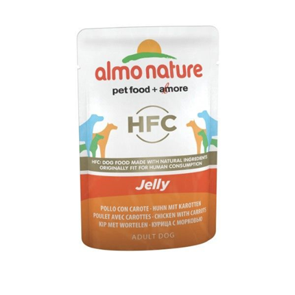Almo Nature HFC Jelly vrečka - piščanec in korenje - 70 g