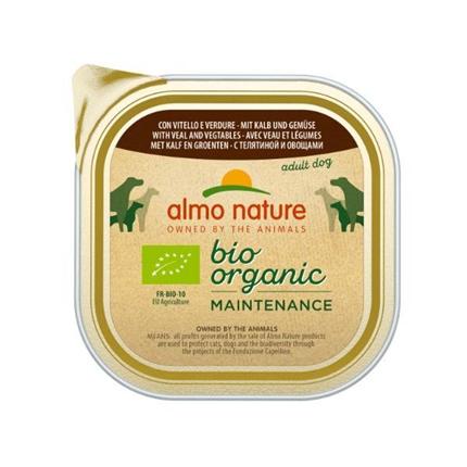 Almo Nature Bio Pate - teletina in zelenjava