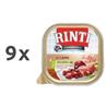 Rinti Kennerfleisch alutray - ovca in rjavi riž - 300 g 9 x 300 g