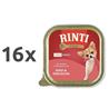 Rinti Gold Mini alutray - govedina in pegatka - 100 g 16 x 100 g