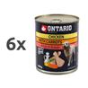 Ontario Adult - piščanec, korenje in lososovo olje 6 x 800 g