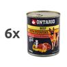 Ontario Adult - govedina, krompir in sočnično olje 6 x 800 g