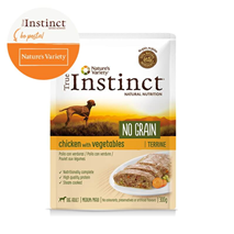 True Instinct No Grain Adult Medium/Maxi - piščanec in zelenjava - 300 g