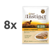 True Instinct No Grain Adult Medium/Maxi - piščanec in zelenjava - 300 g 8 x 300 g