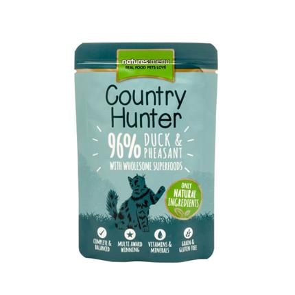 Natures Menu Country Hunter - raca in fazan - 85 g