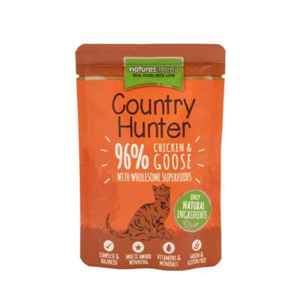 Natures Menu Country Hunter - piščanec in gos - 85 g