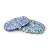 Leopet ovalna blazina Nettuno Abstract, modro zelena