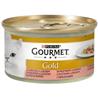 Gourmet Gold koščki v omaki - piščanec in losos - 85 g 85 g