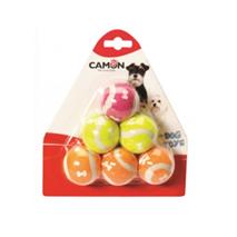Camon teniška žoga, 6 kos - 4,5 cm