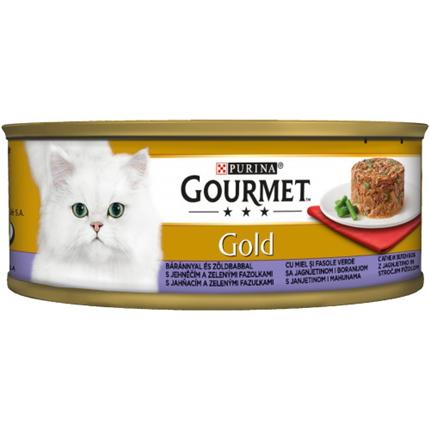 Gourmet Gold Savoury Cake - jagnjetina in stročji fižol - 85 g