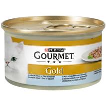 Gourmet Gold Duo - morska riba in špinača - 85 g