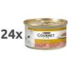 Gourmet Gold koščki v omaki - piščanec in losos - 85 g 24 x 85 g