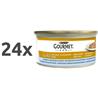 Gourmet Gold Duo - morska riba in špinača - 85 g 24 x 85 g