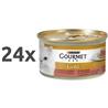 Gourmet Gold - jagnjetina in raca - 85 g 24 x 85 g