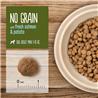 True Instinct No Grain Adult Mini - losos in krompir