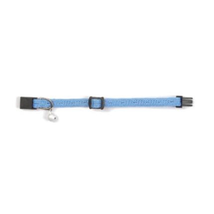 Beeztees ovratnica za mačke Naylon Kitten, modra - 16-23 cm