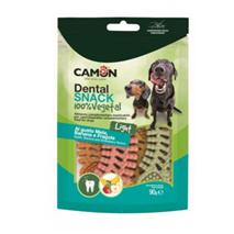 Camon Dental Snack Vegetal Fishbone, jabolko/jagoda/banana - 90 g