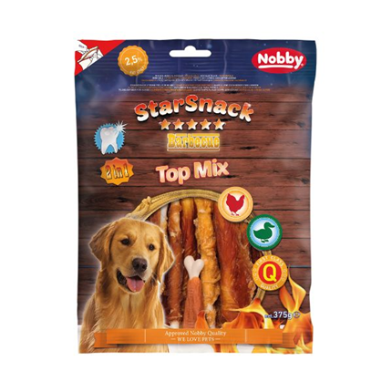 Nobby Starsnack Barbecue Top Mix - 375 g