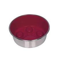 Nobby kovinska posoda Slowdown Paw, rdeča - 16 cm/0,82 l