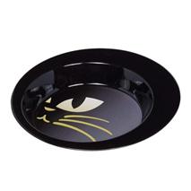 Nobby kovinska posoda Kitty, črna - 19 cm/0,34 l