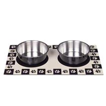 Nobby magnetna posoda in podstavek, črna - 2x0,92 l