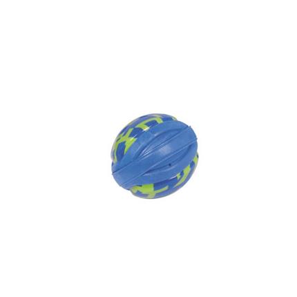 Nobby plavajoča žoga TPR guma in pena, modra - 8 cm