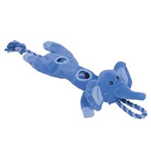Nobby plišasta igrača slon z vrvjo - 55 cm