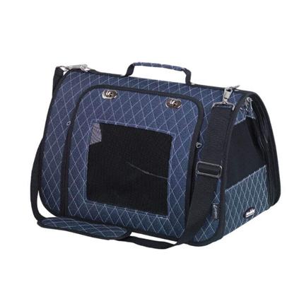 Nobby torba za pse Kalina, modra - 44 x 25 x 27 cm