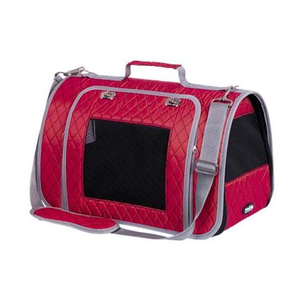 Nobby torba za pse Kalina, rdeča - 44 x 25 x 27 cm