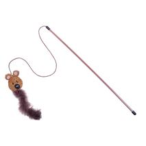 Nobby igrača palica in medo s perjem in mačjo meto