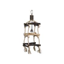 Nobby igrača za ptice leseni stolp - 35 x 12,5 cm