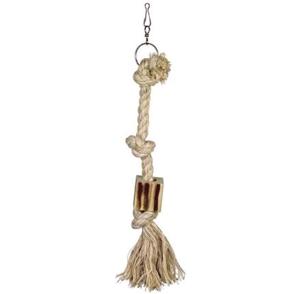 Nobby igrača za ptice vrv, 3 vozli - fi 1,8 x 44 cm