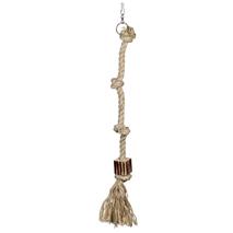 Nobby igrača za ptice vrv, 4 vozli - fi 2,3 x 73 cm
